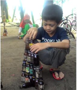 isam-botol tinggi